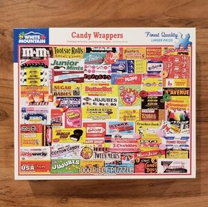 White Mountain Candy Wrappers 1,000 Piece Puzzle!